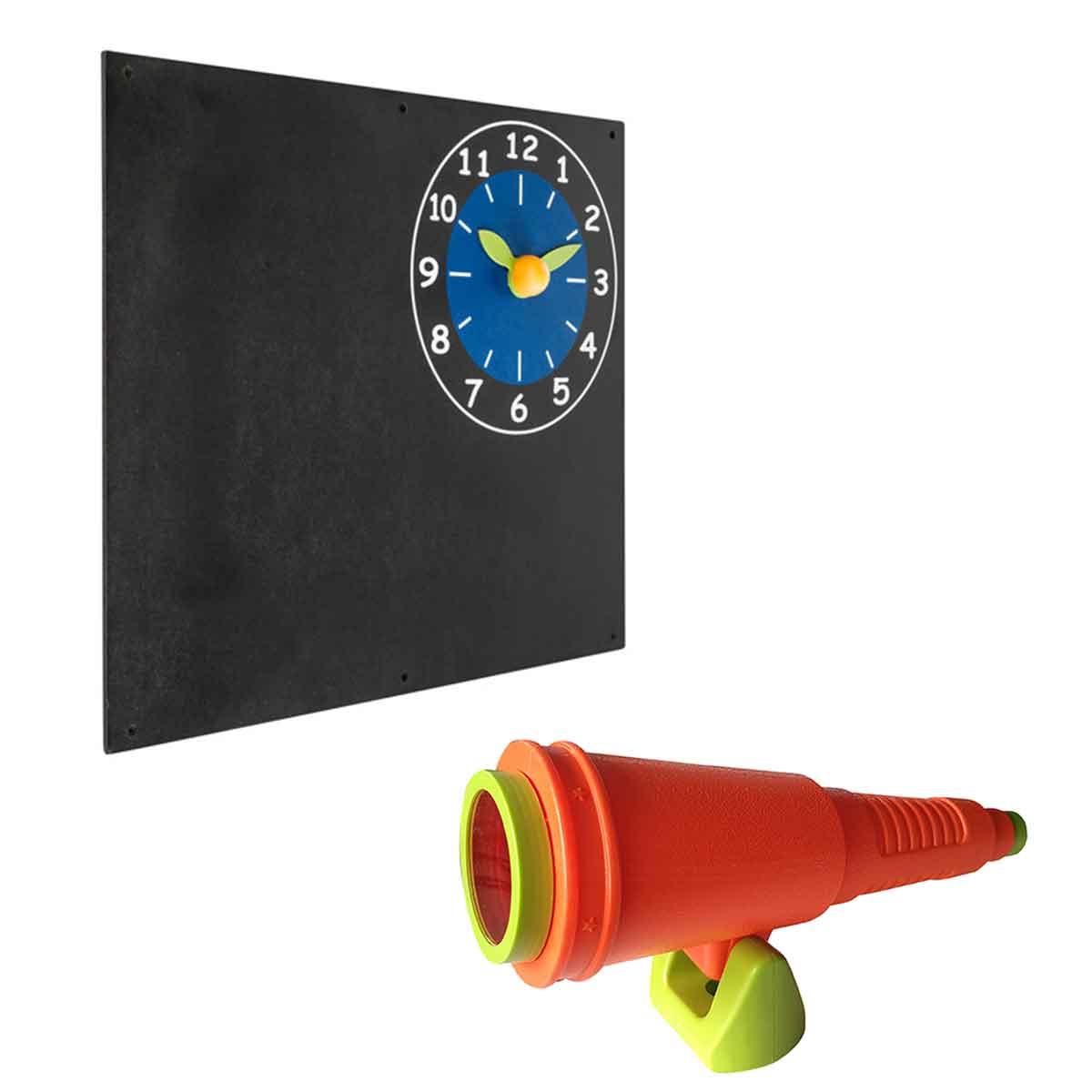 Accessoires en plastique pour aires de jeux