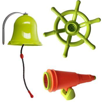 """Accessoires en plastique pour aires de jeux """"pirates"""" - Soulet"""