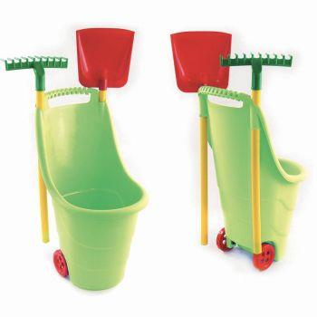 Kit de jardinage en plastique pour enfant