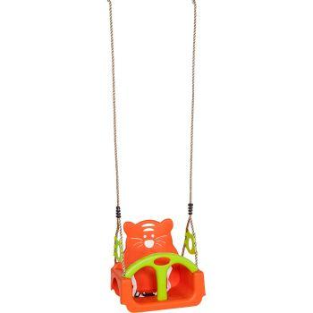 Balançoire bébé Trix orange et vert, 390 x 300 x 385 mm