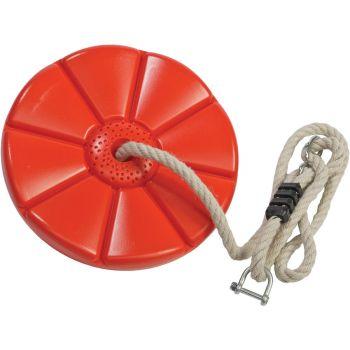 Monkey Swing rouge pour Tyrolienne,  280 x 40 mm