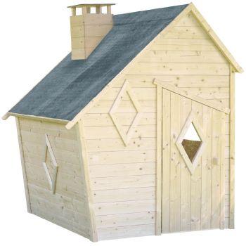 Cabaña infantil asimétrica de madera - Wanda