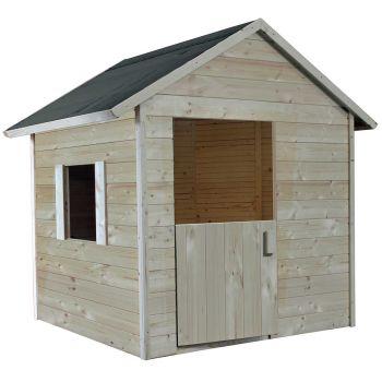 Cabaña pequeña de madera para niños - Lilas
