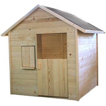 Kleine houten hut voor kinderen - Igor