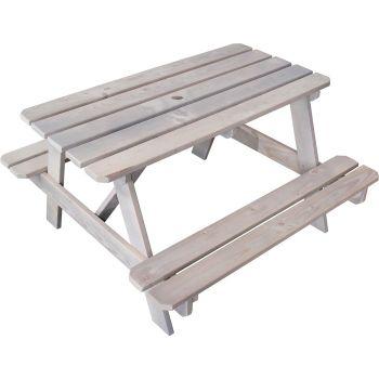 Table de pique-nique en bois pour enfant - Picnic