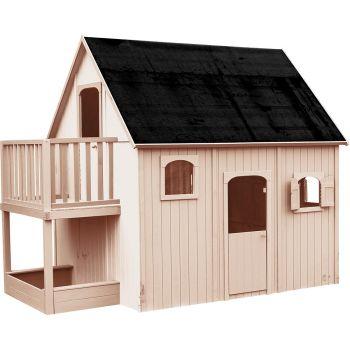 Cabane en bois haute sur pilotis pour enfant - Duplex